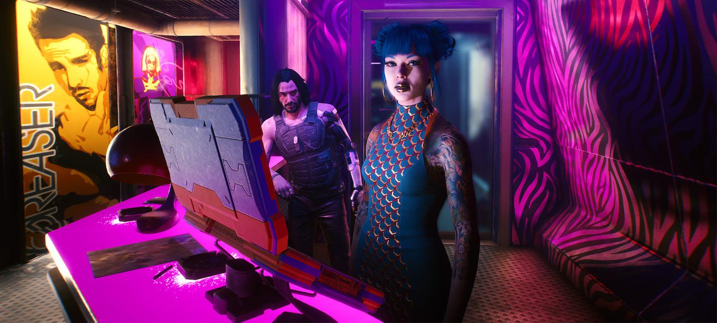 В релизном трейлере Cyberpunk 2077 есть скрытое послание для игроков