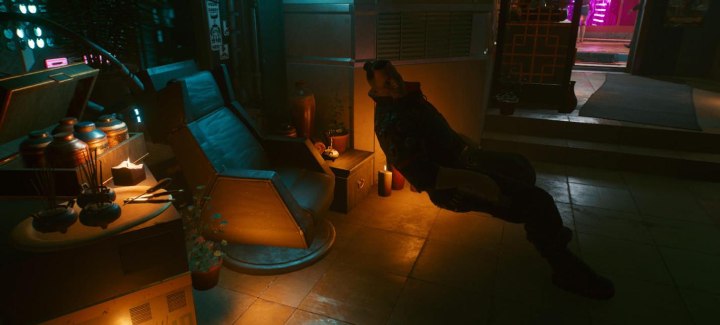 Не баг, а фича Игроки Cyberpunk 2077 научились делать распрыжку