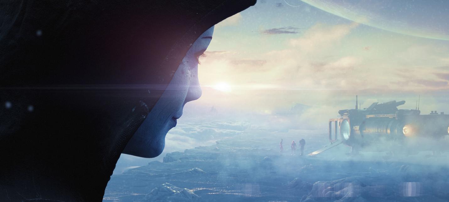 Майкл Гэмбл рассказал о команде разработчиков и двух галактиках в тизере Mass Effect