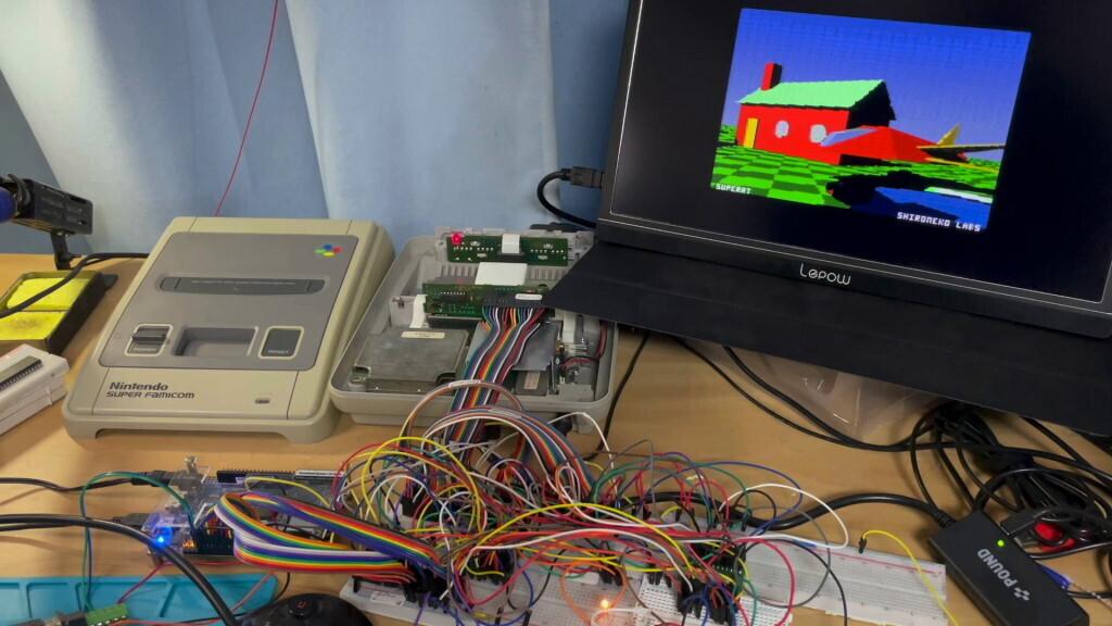 Энтузиаст добавил трассировку лучей на ретро-консоль SNES