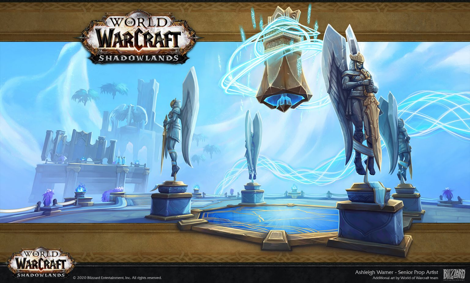 Концепт-арты World of Warcraft: Shadowlands