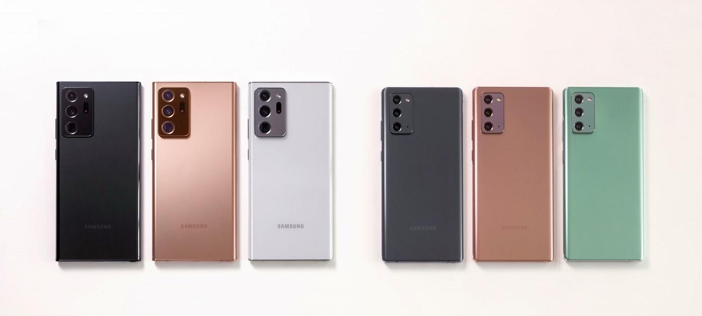 Samsung не собирается прекращать производство смартфонов Galaxy Note