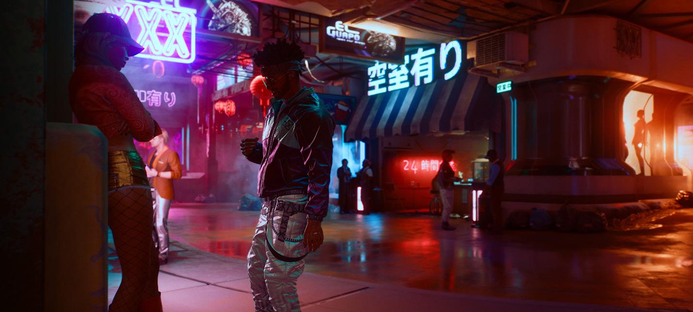 Физика в Cyberpunk 2077 хуже, чем в Fallout 4