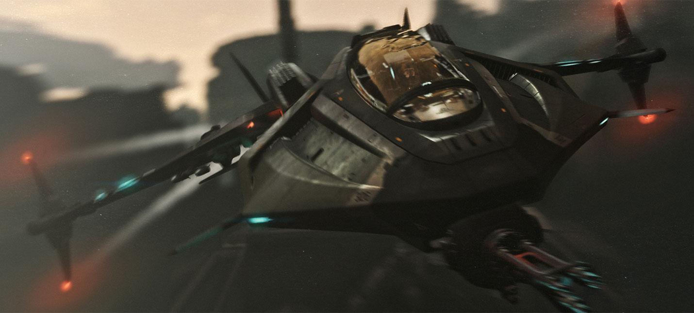 Динамические события и новые корабли  альфа Star Citizen получила очередной апдейт