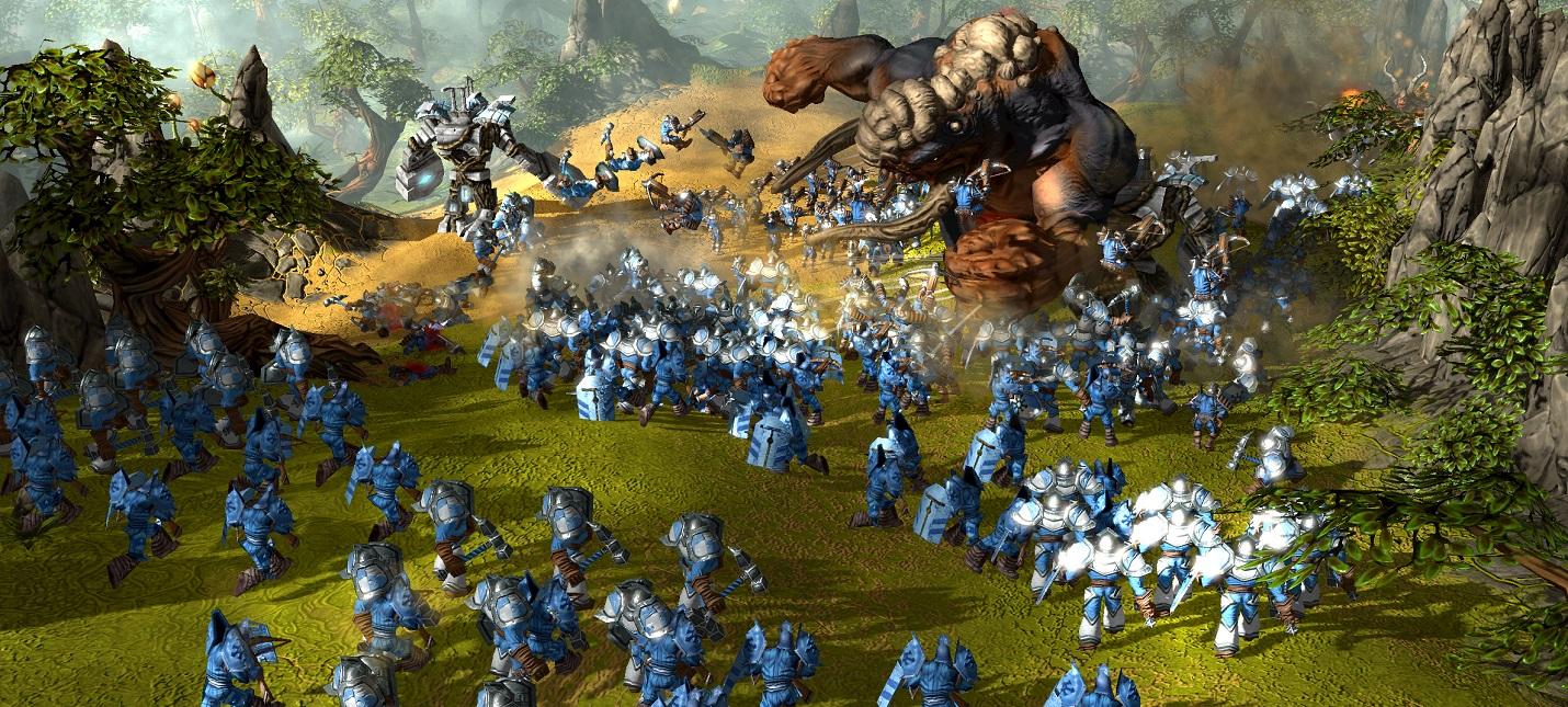 Вышла бесплатная стратегия Skylords Reborn  возрожденная BattleForge