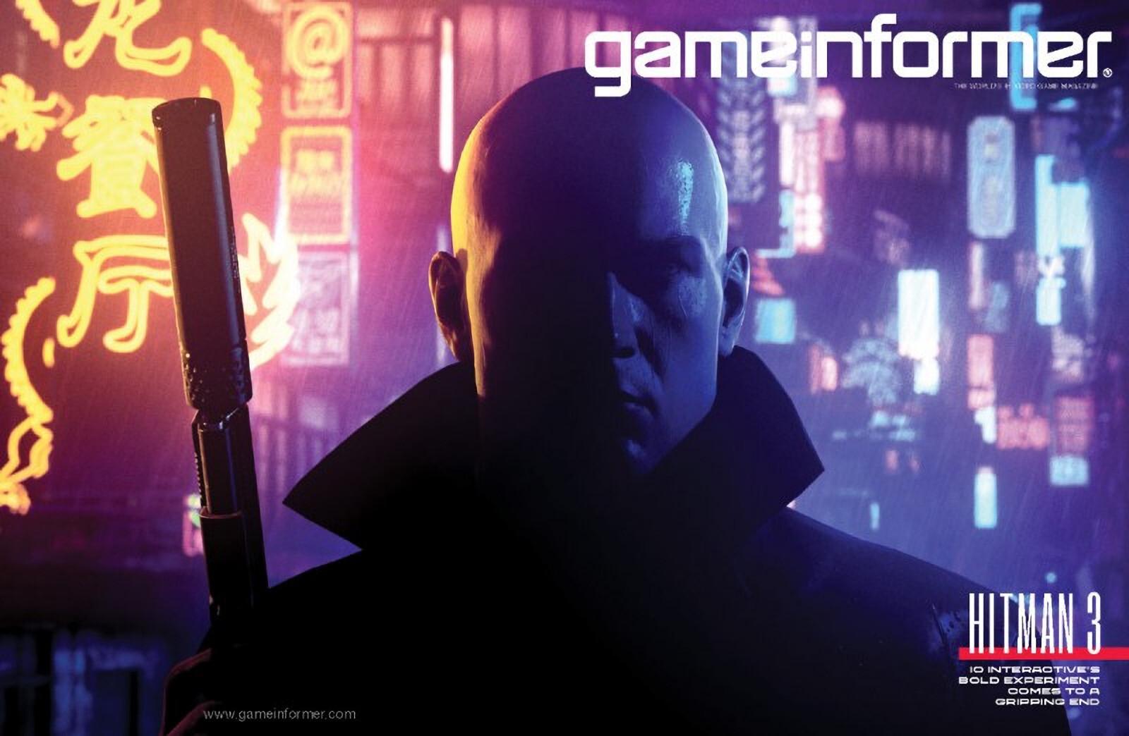Hitman 3 на обложке нового выпуска Game Informer
