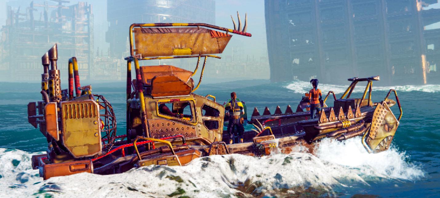 Анонсирована мультиплеерная адвенчура Age of Water от российских разработчиков
