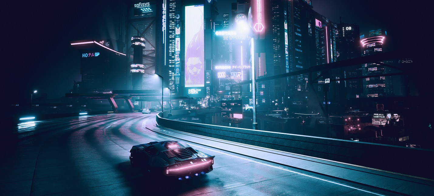 Геймплей Cyberpunk 2077 в 8K с трассировкой лучей