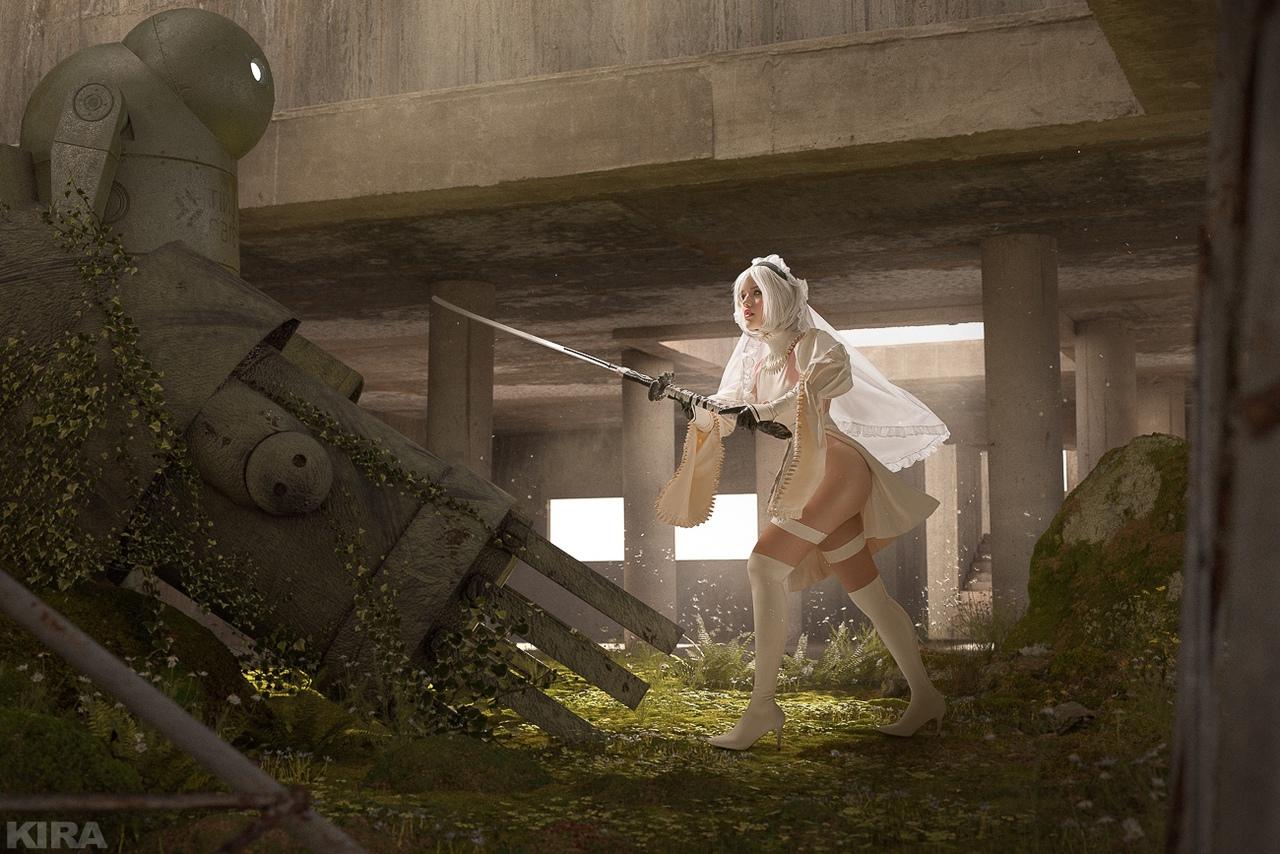 Пятничный косплей: Леди Дедпул, Лара Крофт, NieR: Automata и Cyberpunk 2077