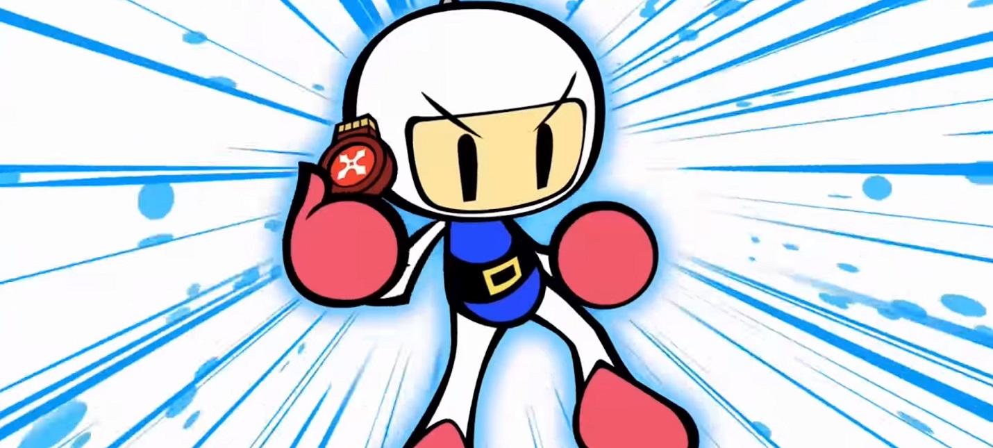 Konami готовит анонс по Bomberman