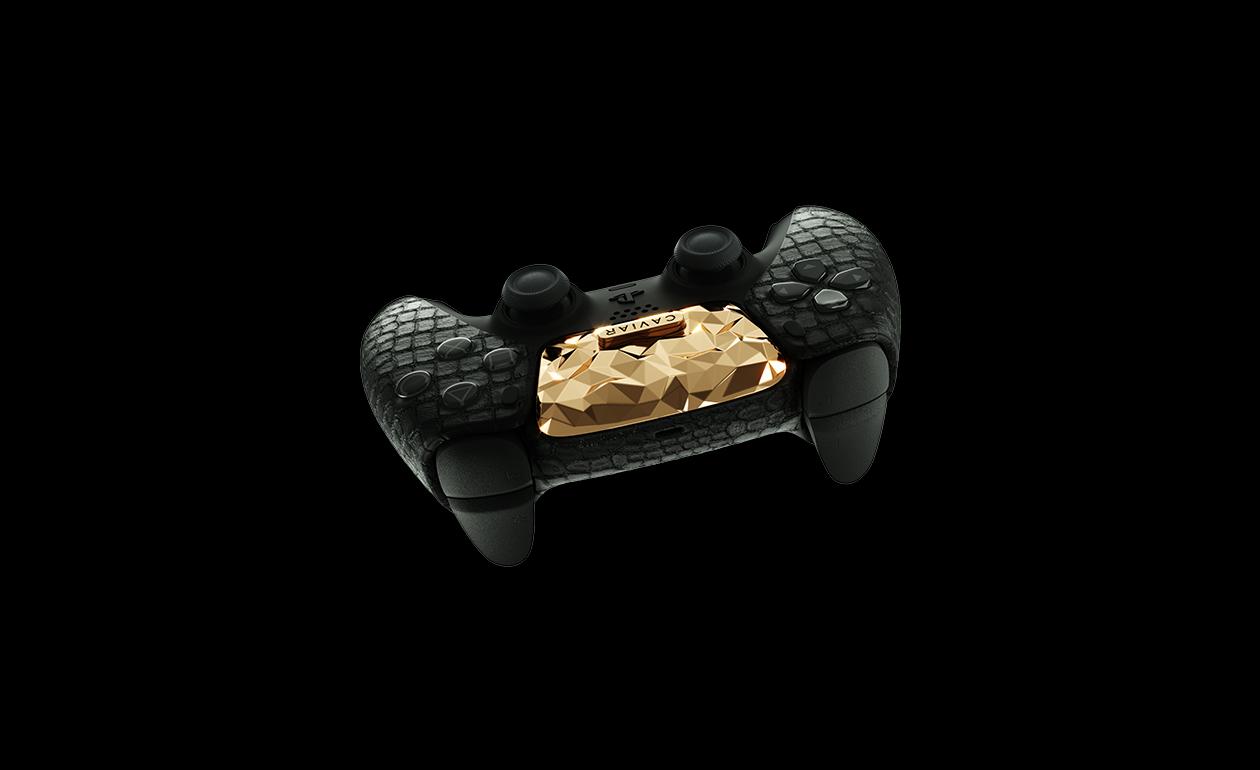 20 килограмм золота и кожа крокодила — Caviar показала самую дорогую PS5