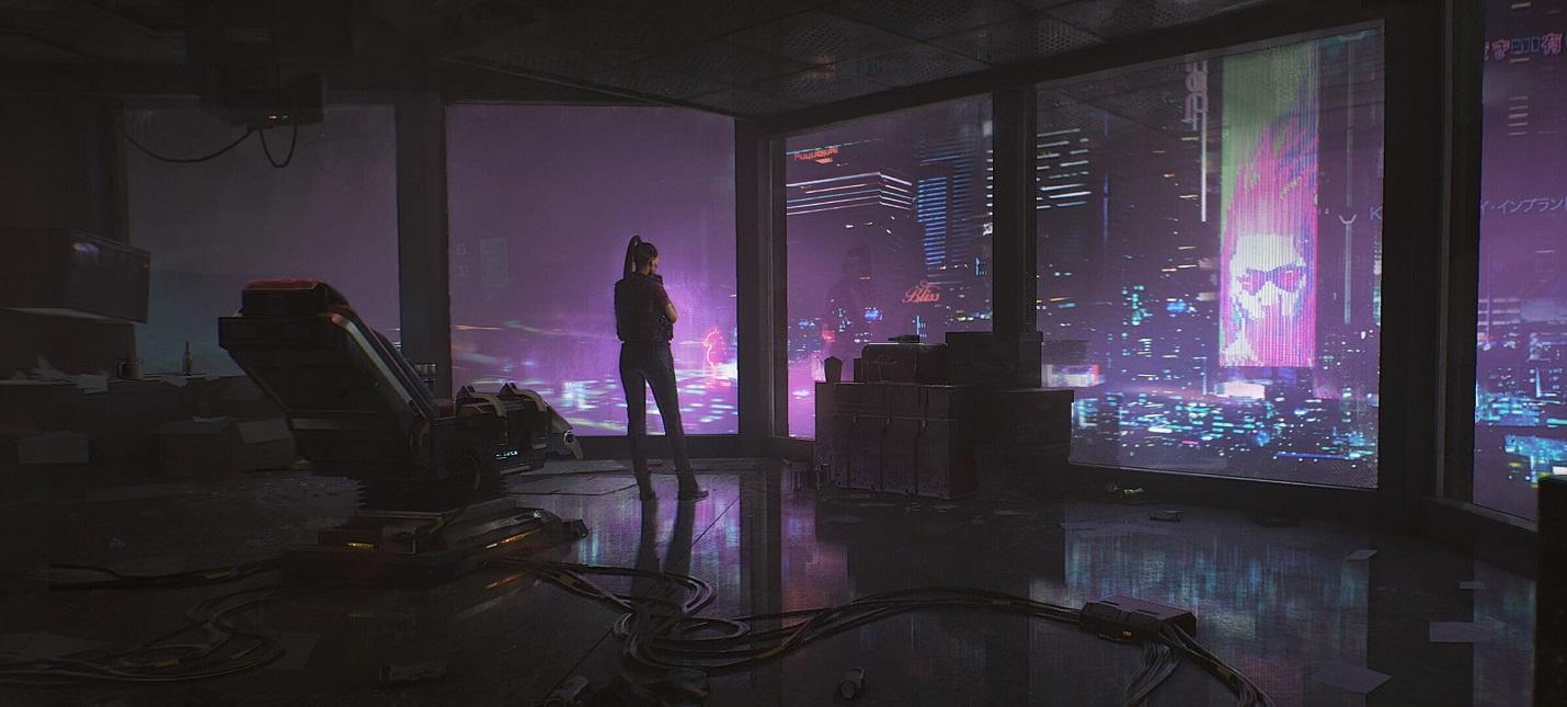 Найт-Сити и его окрестности на концептах и рендерах Cyberpunk 2077