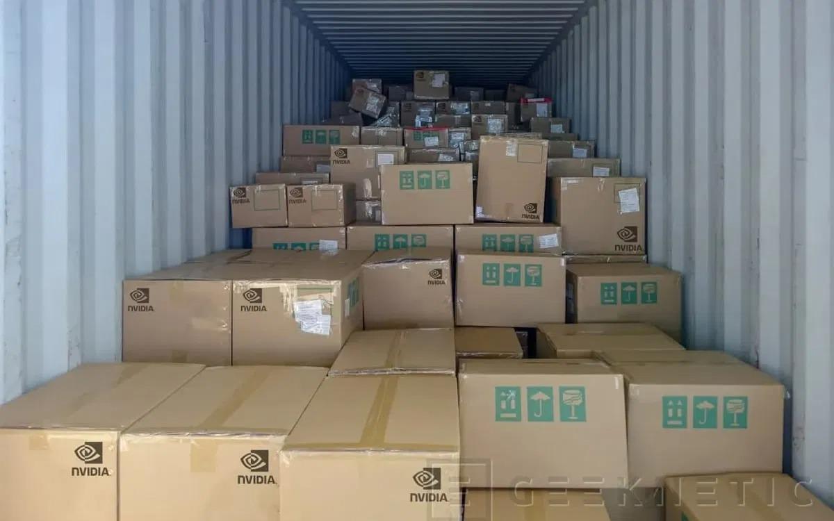 Новогоднее чудо — 500 тысяч видеокарт серии NVIDIA RTX 30 найдены в потерянном контейнере