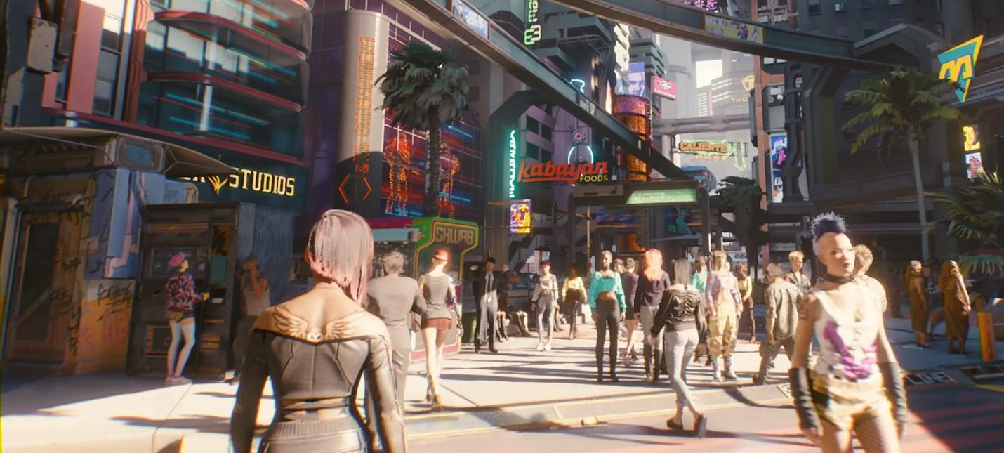 Моддер улучшил поведение пешеходов в Cyberpunk 2077, изменив всего несколько параметров