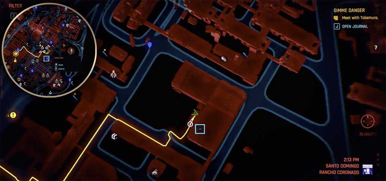Игрок Cyberpunk 2077 обнаружил настоящую дыру в карте мира