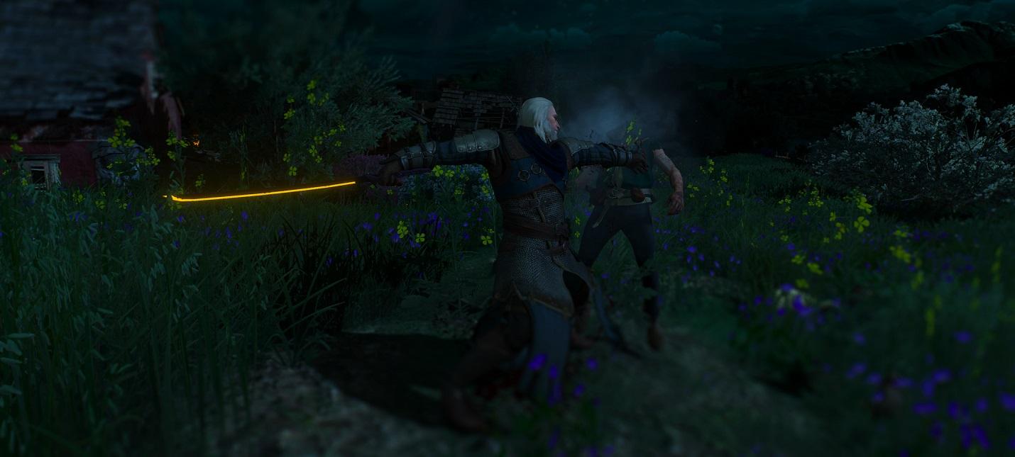 Моддер добавил в The Witcher 3 вырезанную из Cyberpunk 2077 катану