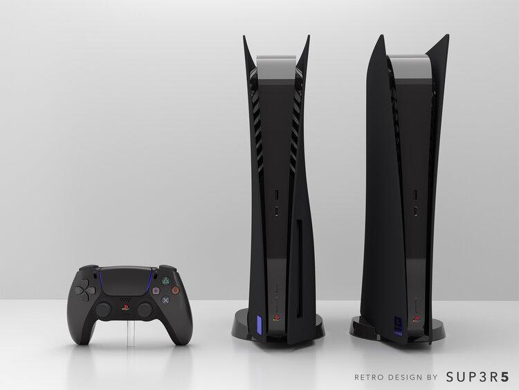 Группа энтузиастов начнет продажи кастомной PS5 в стиле PS2