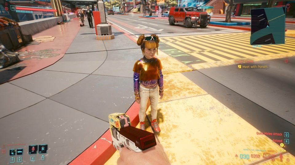 Дети в Cyberpunk 2077 — это просто уменьшенные взрослые