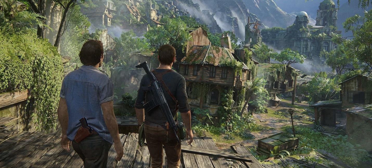 Геймдев Доклад о важности кинематографичного окружения в Uncharted 4