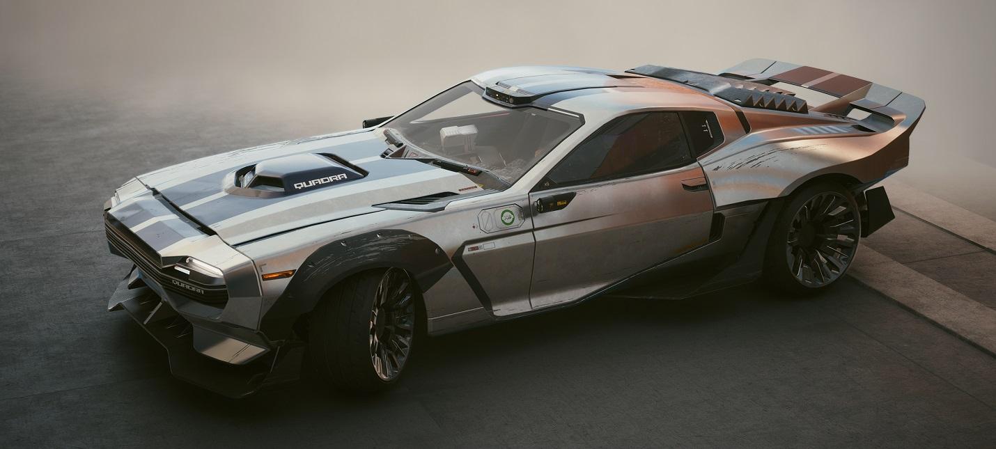 Из-за перка Скала в Cyberpunk 2077 можно умереть под колесами автомобиля