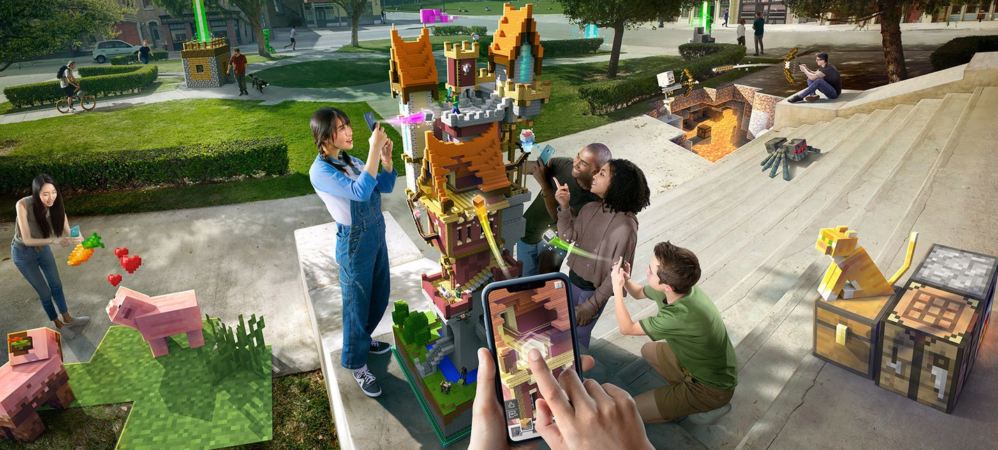 Microsoft закроет Minecraft Earth в конце июня