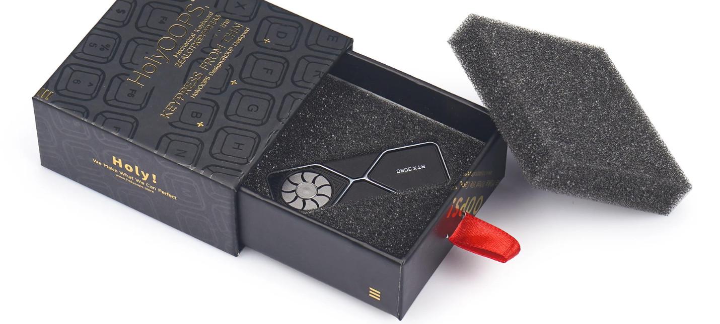 Скоро в продаже появится кейкап в виде RTX 3080