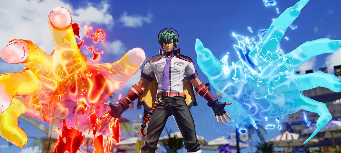 Дебютный трейлер файтинга The King of Fighters XV