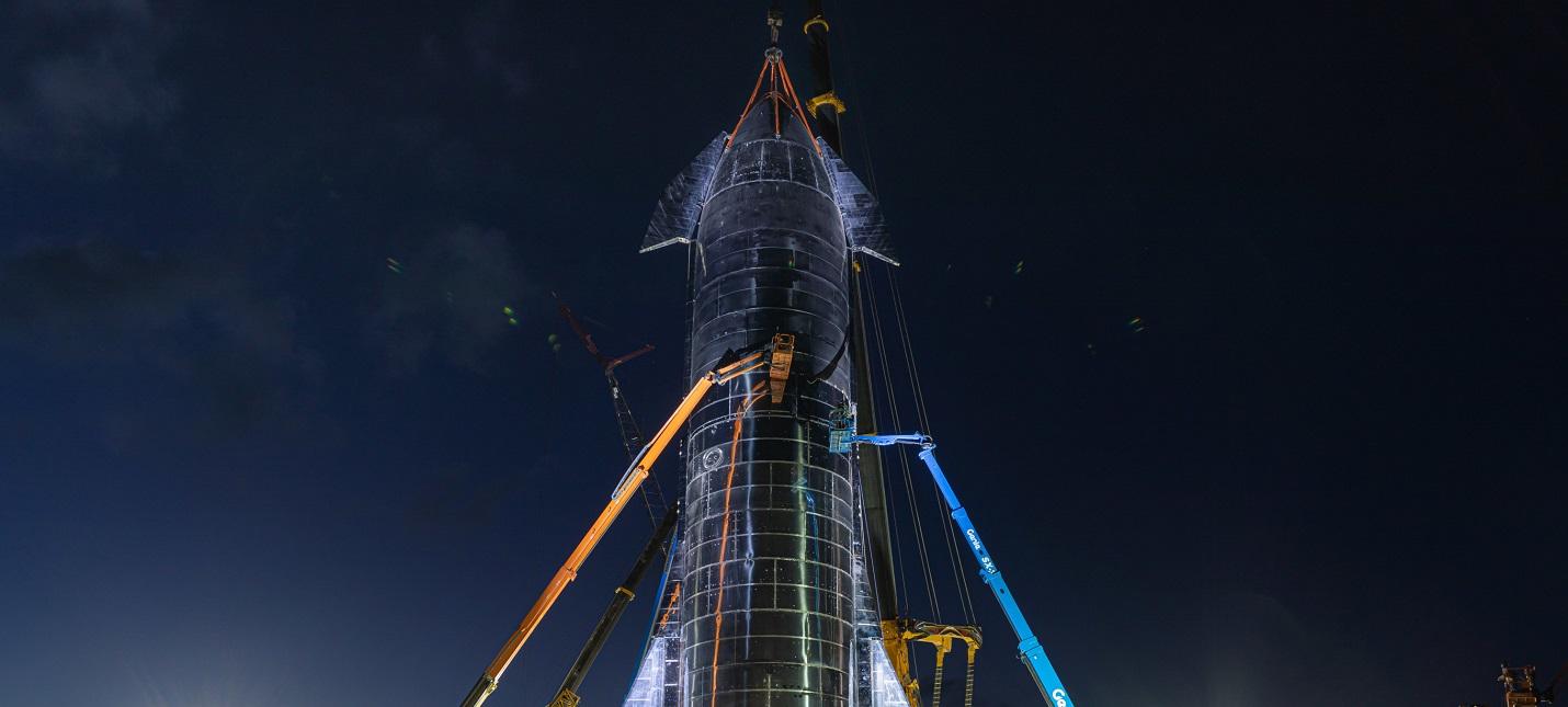 SpaceX провела успешное тестирование двигателей Starship и вывела на орбиту турецкий спутник