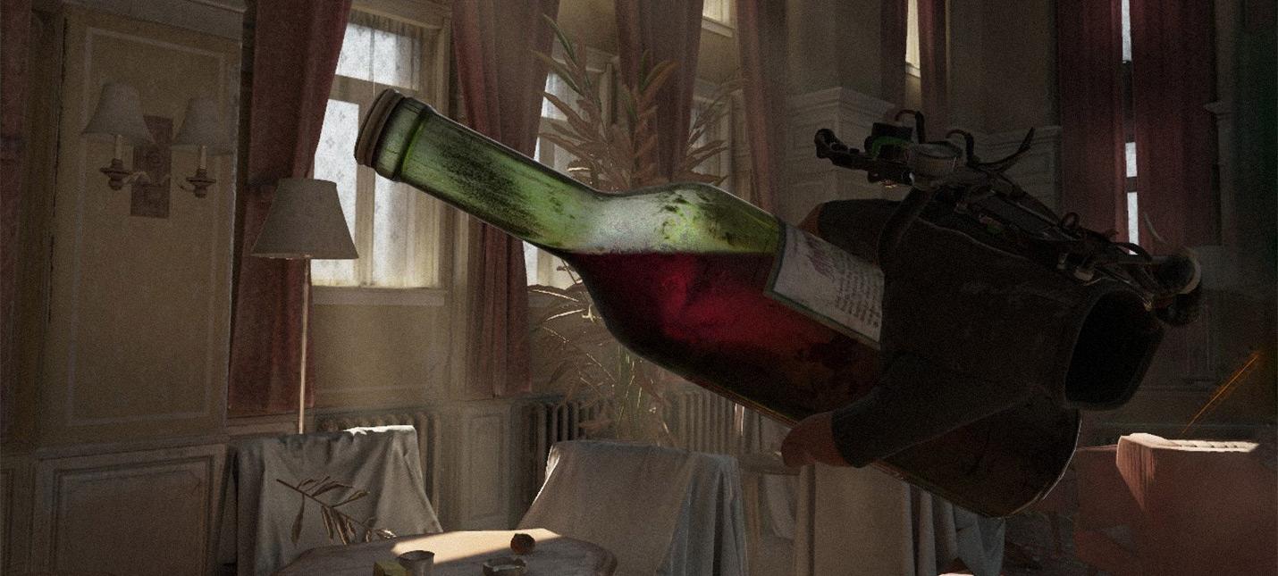 Волшебство шейдеров Почему бутылки в Half-Life Alyx выглядят так здорово