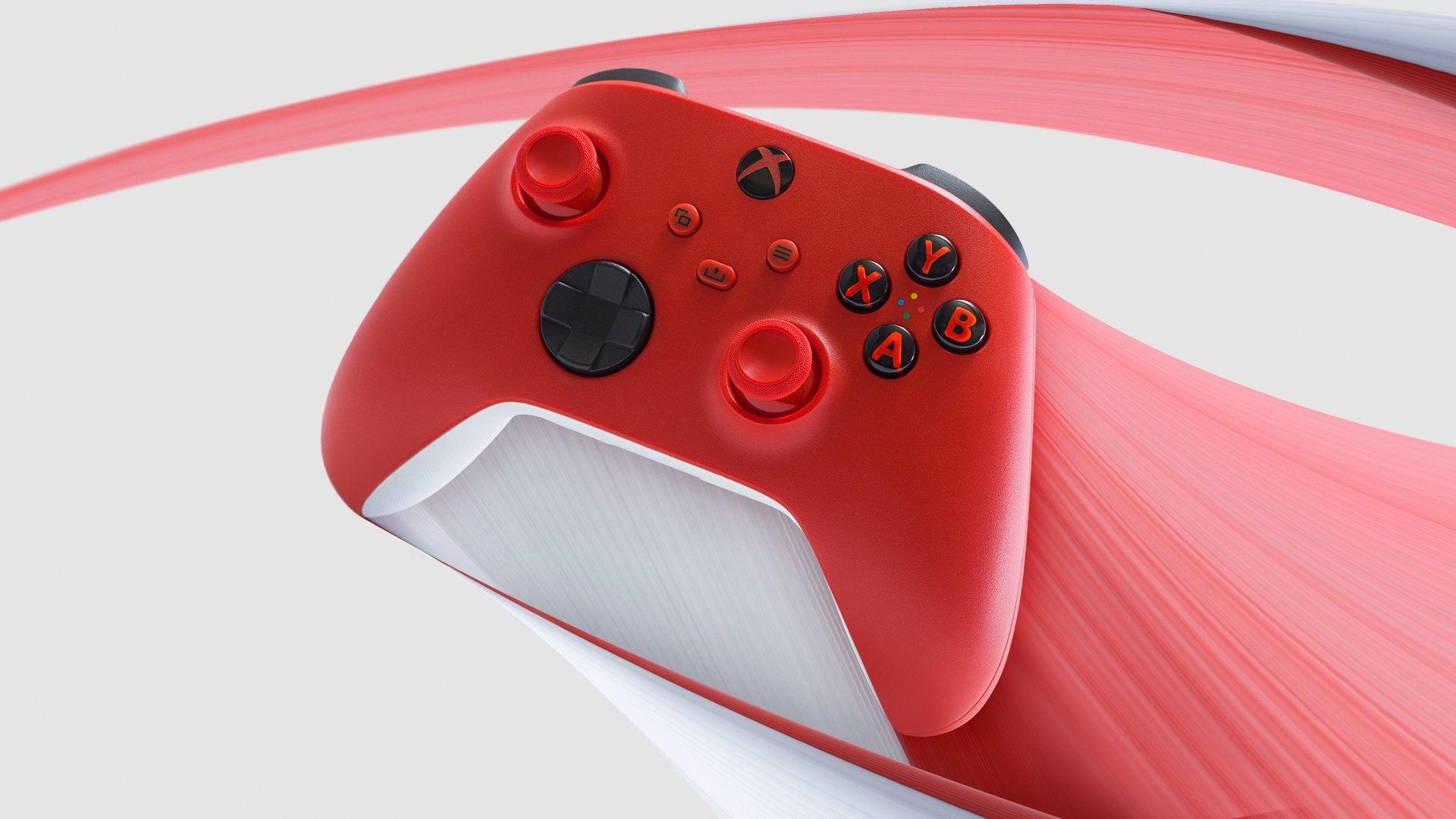 Microsoft анонсировала новый геймпад Xbox в расцветке Pulse Red