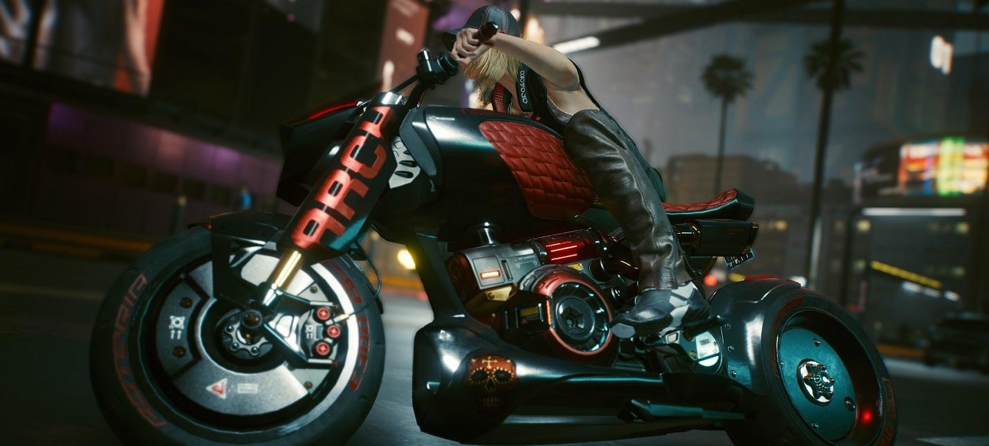 Моддер сделал физику машин в Cyberpunk 2077 более реалистичной