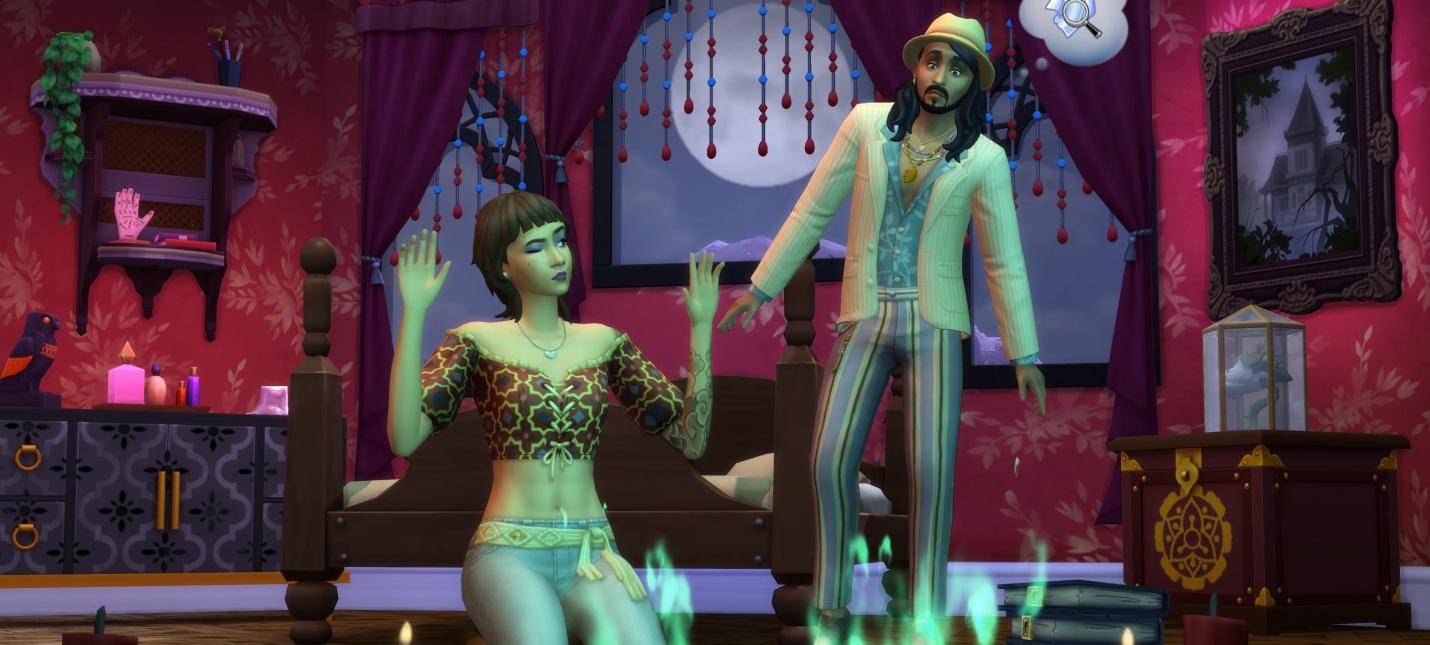 Новое дополнение для Sims 4 добавит призраков и медиумов