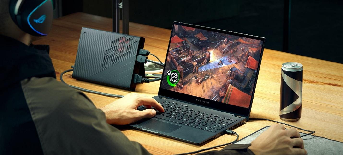 CES 2021 ASUS анонсировала компактный ноутбук с внешней RTX 3080