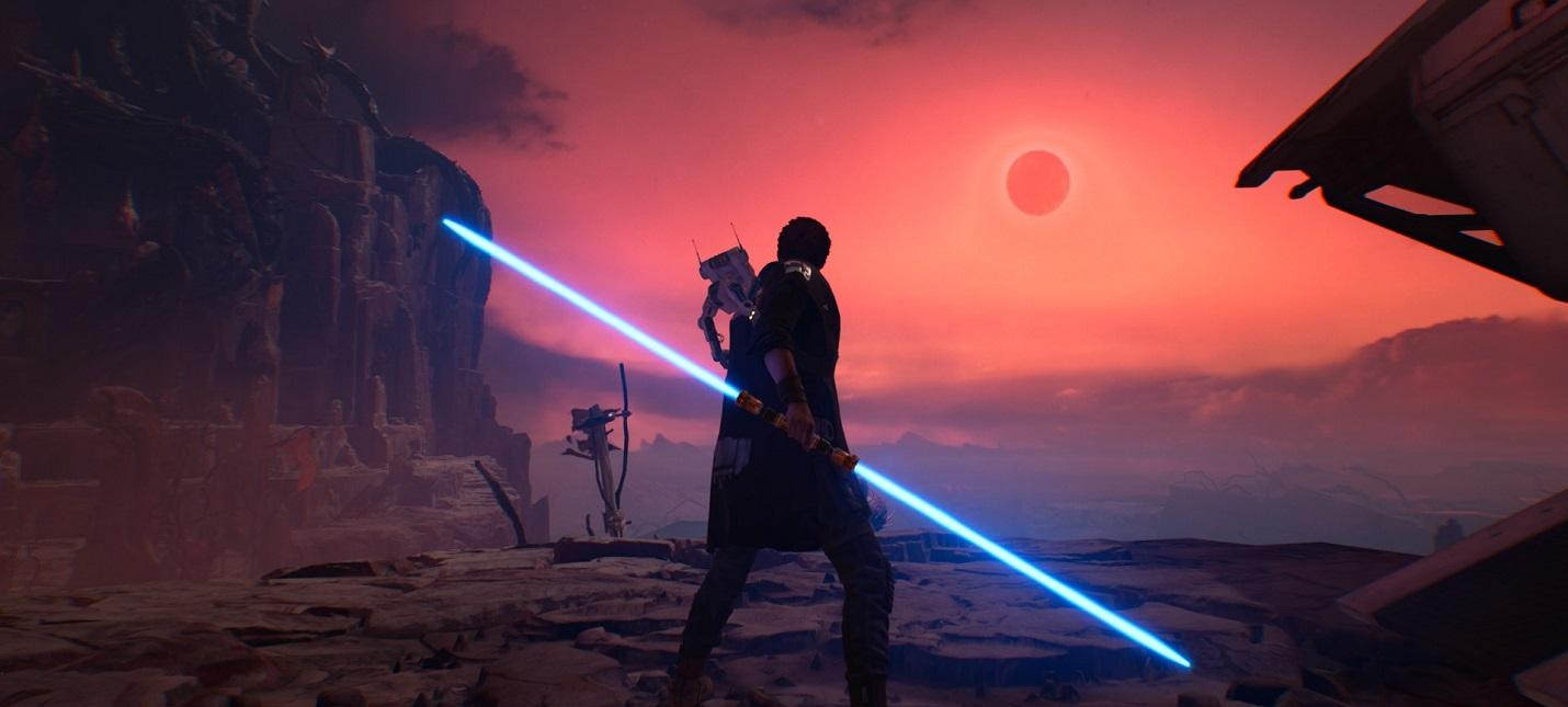 Динамическое разрешение и стабильные 60 кадров  анализ некстген-версии Jedi Fallen Order