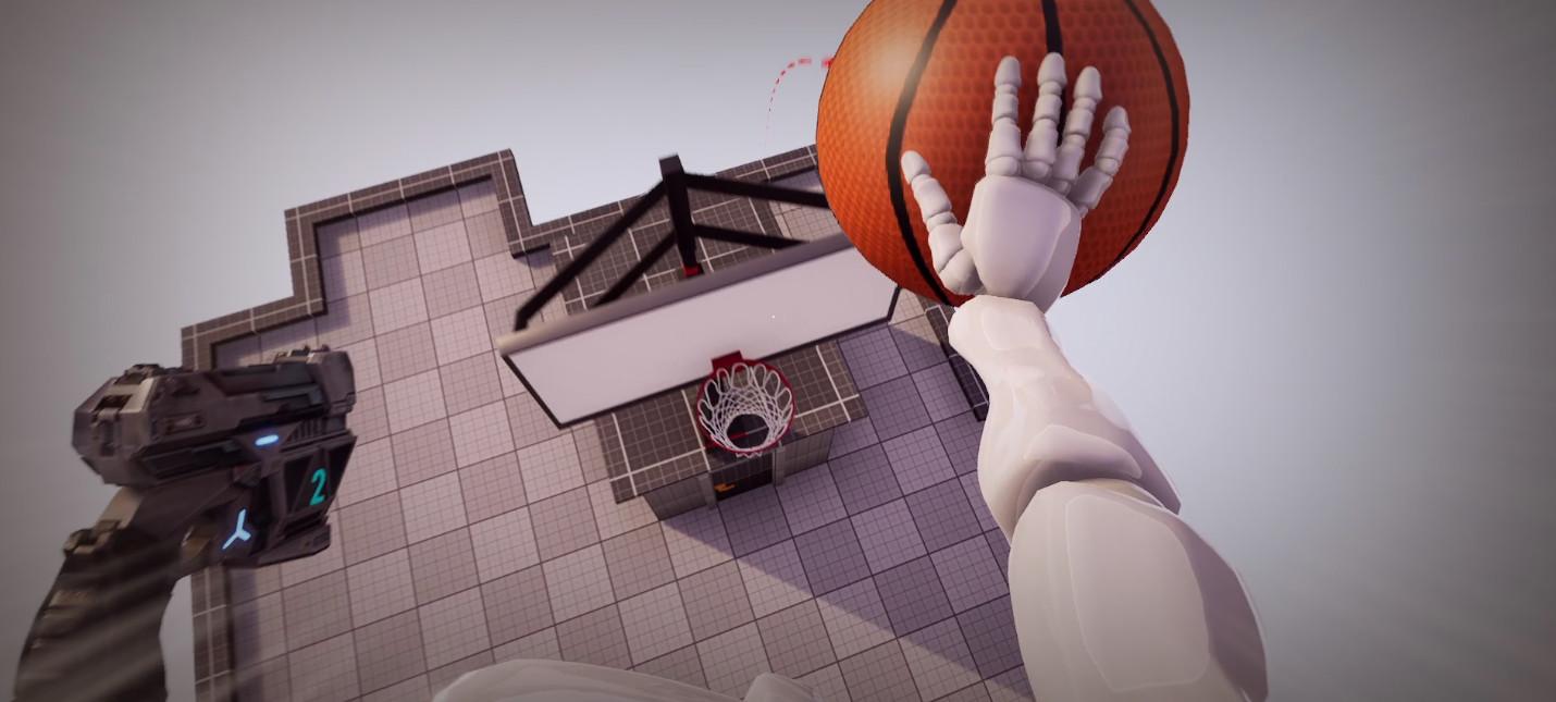 Grapple Hoops — многообещающий мини-проект про баскетбол с крюком из Titanfall