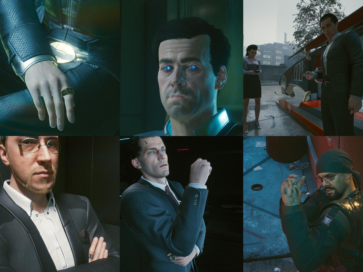 Игроки Cyberpunk 2077 пытаются разгадать самую большую тайну — кто такой Мистер Голубоглазый?