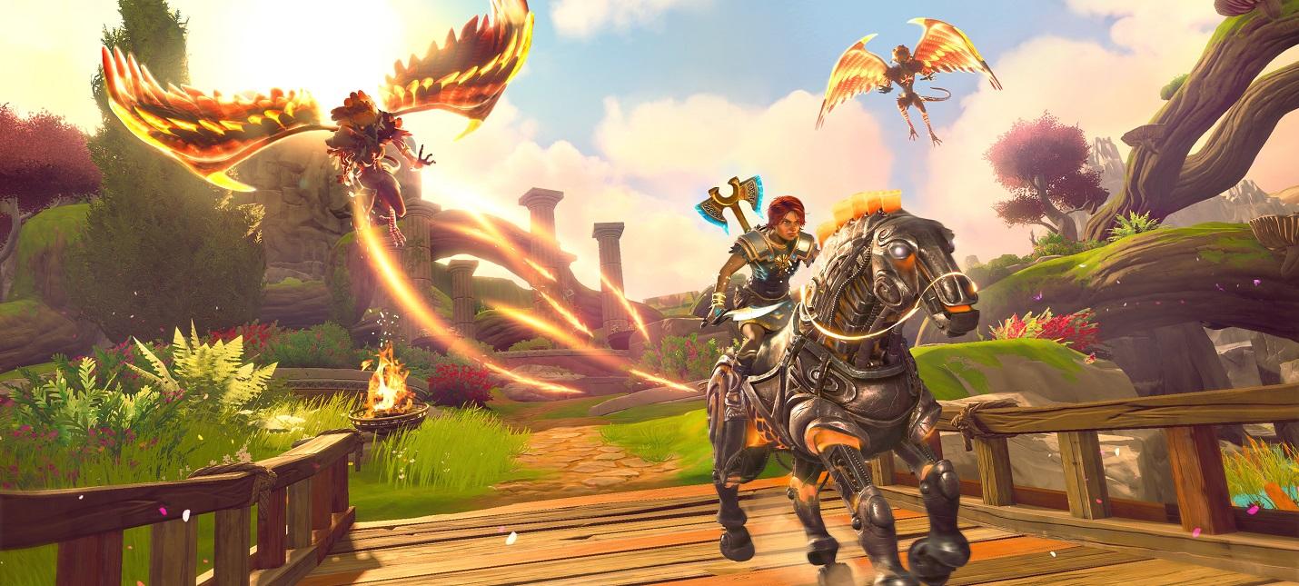 Immortals Fenyx Rising получила поддержку обратной отдачи DualSense на PS5