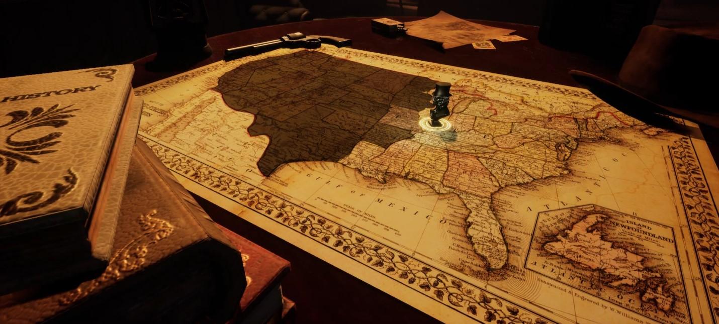 Строительство первых поселений в США в трейлере стратегии Build and Discover America