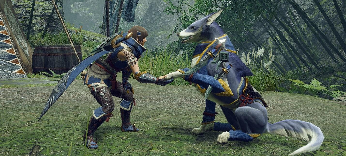 Релизная версия Monster Hunter Rise избавится от зависаний из-за большого списка друзей