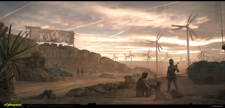 Другой Джонни Сильверхенд и дистопичный Найт-Сити на артах Cyberpunk 2077