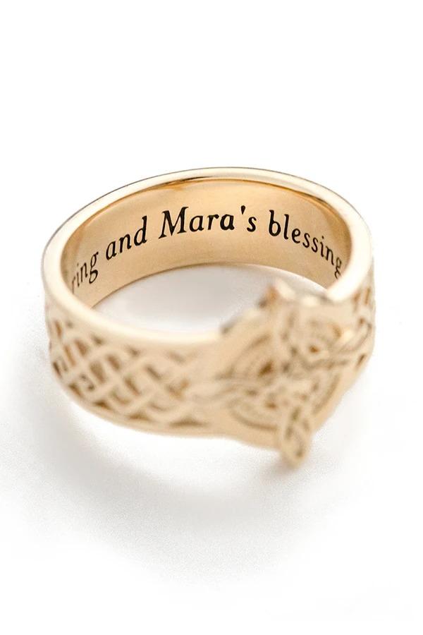 За 1000 долларов можно купить официальное обручальное кольцо в стиле The Elder Scrolls
