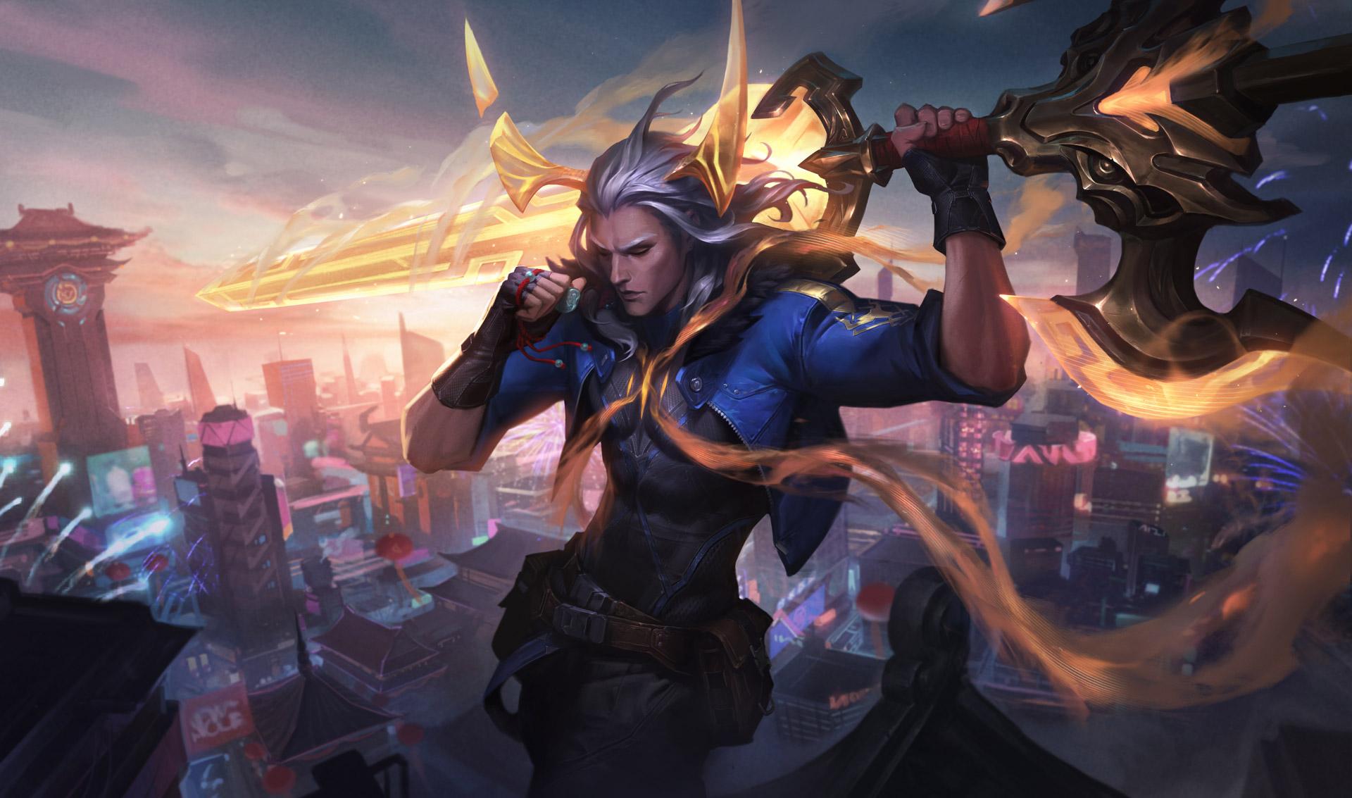 Виего и новые образы — для League of Legends вышел апдейт