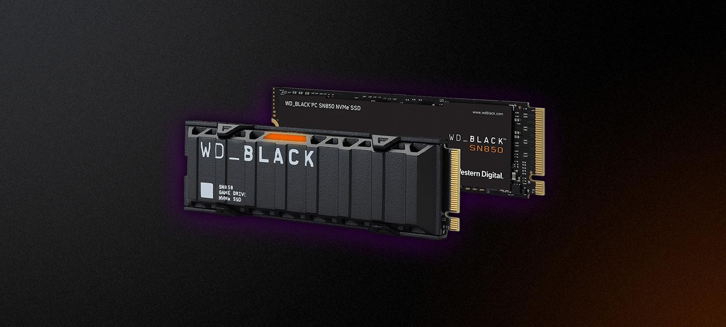 Обзор SSD WD Black SN850  монстр скорости