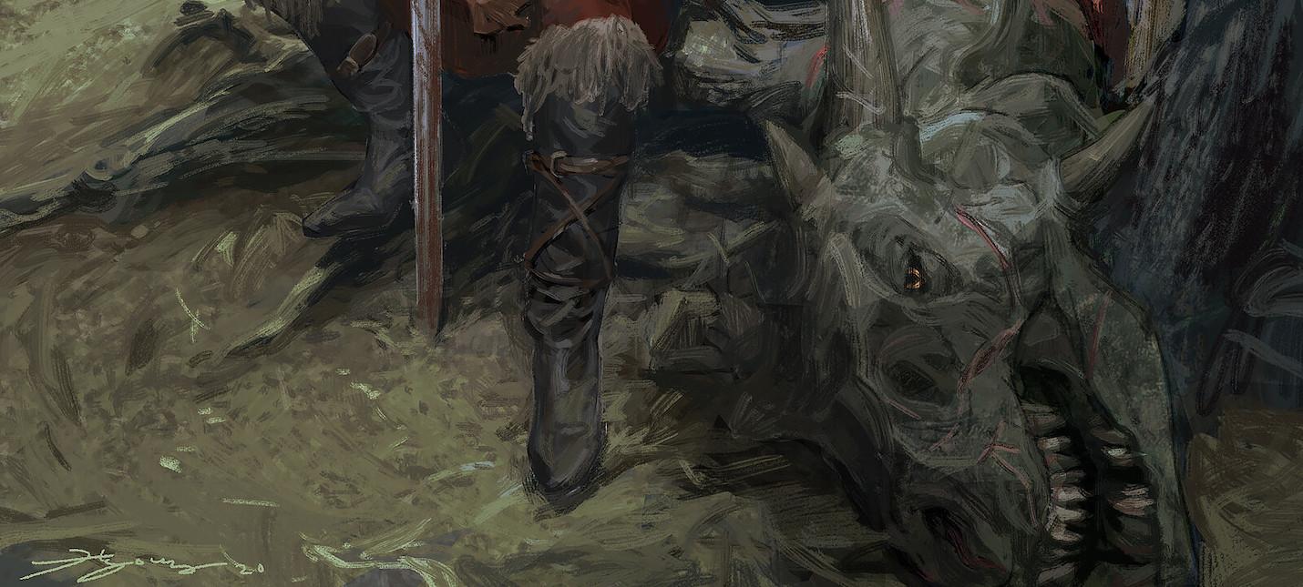 Нет, арты художника Naughty Dog не связаны с новой игрой студии