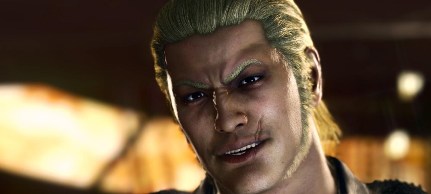 Слух Скриншоты и детали новой Yakuza