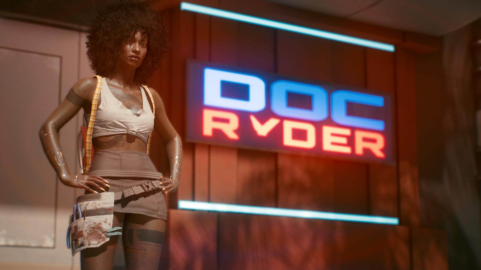 Как при помощи модов Cyberpunk 2077 сделать из Ви настоящего киберпанкового персонажа