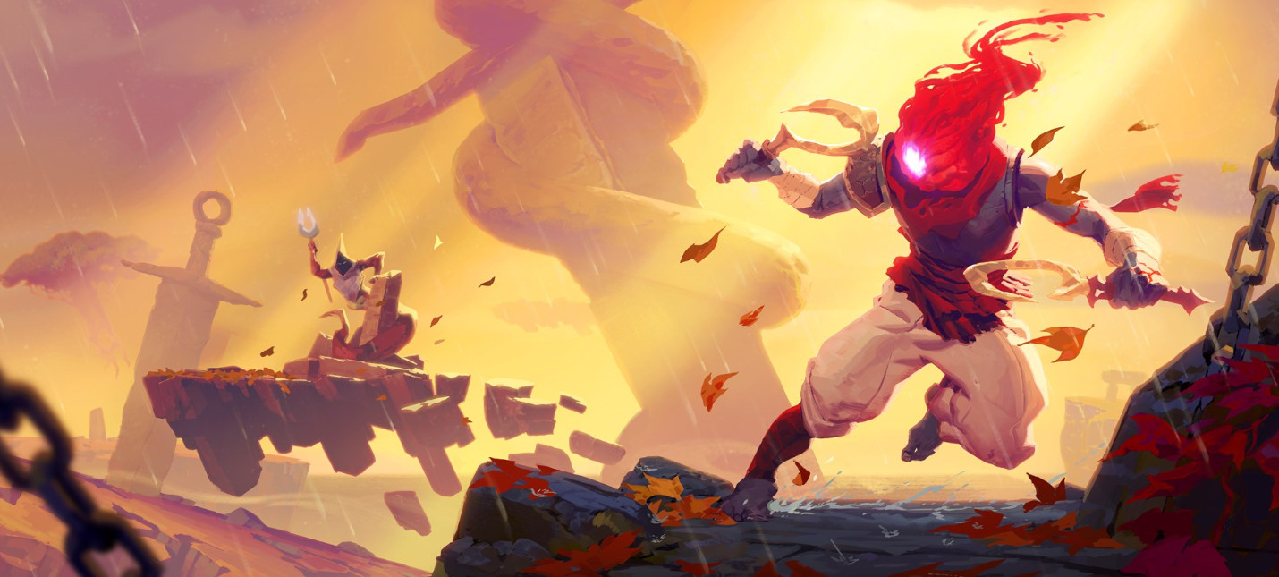Анимационный трейлер к релизу дополнение Fatal Falls для Dead Cells