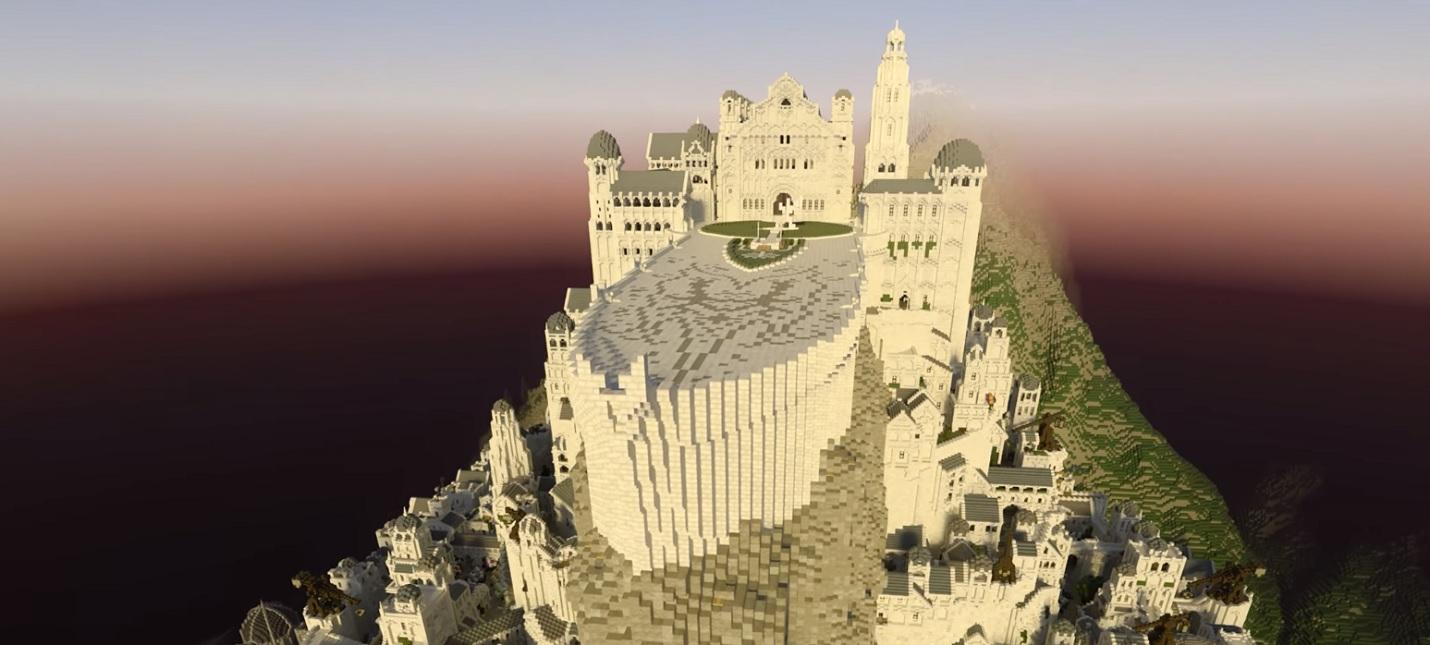 NVIDIA показала трассировку лучей в Minecraft на примере Минас Тирита