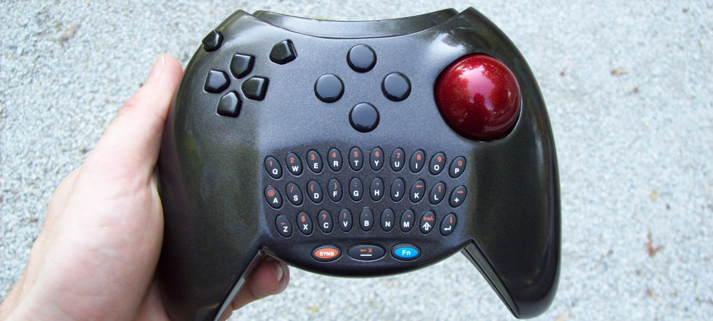 NVIDIA запатентовала геймпад с сенсорным трекболом, который объединит плюсы мышки и джойстика