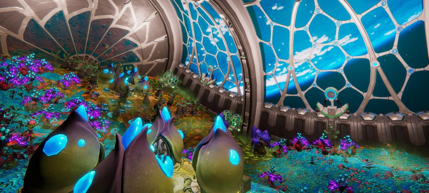 Строительство космической станции и развлечения инопланетян в трейлере тайкуна Spacebase Startopia